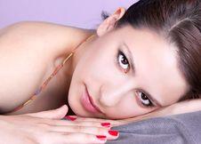Free Beutiful Young Brunett Woman Royalty Free Stock Photo - 9620605