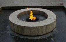 Free Eternal Fire Royalty Free Stock Photo - 9620815