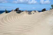 Free Sand Dunes Royalty Free Stock Photos - 9621438