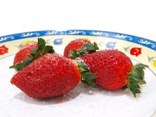 Free Tempting Strawberries Thirteen Stock Photography - 9621762