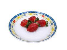 Free Tempting Strawberries Fourteen Stock Photos - 9621773