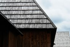 Free Wooden Roof Stock Photography - 9622492
