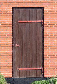 Free Wooden Door Royalty Free Stock Images - 9622659