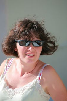 Free Woman With Sunglasses Stock Images - 9623104