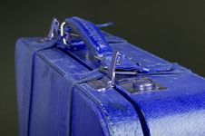 Free Old Leather Suitcase Stock Photography - 9623842