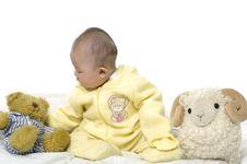 Free Asian Baby Royalty Free Stock Photo - 9624715