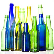 Free Bottles Royalty Free Stock Photo - 9625105