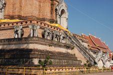 Free Wat Chedi Luang Stock Images - 9625674