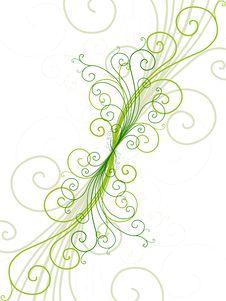 Free Ornate Background Design Royalty Free Stock Photos - 9625688