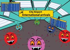 Viruses At The Airport