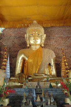 Free Golden Buddha Stock Images - 9625984
