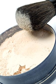 Free Face Powder Stock Photography - 9626372