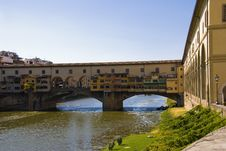 Free Ponte Vecchio, Florence, Italy Stock Images - 9626374