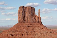 Free Monument Valley Royalty Free Stock Image - 9626526