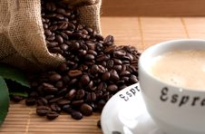 Free Coffee Beans Royalty Free Stock Photo - 9628085