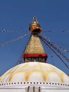 Free Nepalese Stupa Royalty Free Stock Photography - 9628547