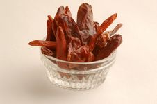 Free Dried Red Peppers Stock Image - 9629151