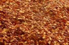 Free Crushed Red Peppers Royalty Free Stock Image - 9629226