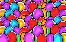 Free Purple, Easter Egg, Heart, Pattern Stock Photography - 96251532