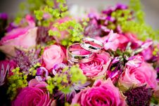 Free Flower, Flower Arranging, Pink, Floristry Stock Images - 96256504