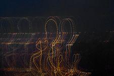 Free Lightpainting Profiles Stock Photo - 96290090