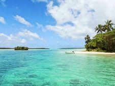 Free Island Paradise Stock Images - 96290434