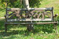 Free Weathered Park Bench 2 Stock Image - 9630371