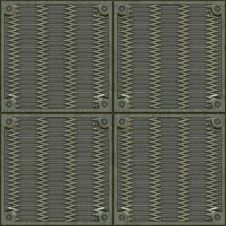 Floor Metal Plates Stock Photos