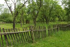 Free Old Wooden Fence Stock Photos - 9630403