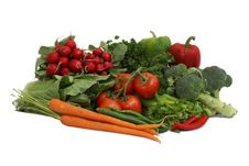 Free Vegetable Arrangement Royalty Free Stock Photos - 9630748