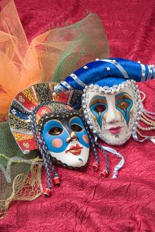 Free Venetian Masks Stock Photo - 9631770