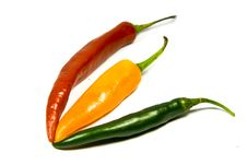 Free Chilies Royalty Free Stock Image - 9632226