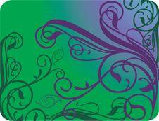 Banner Illustration, Ornate Element. 4 Royalty Free Stock Photos