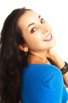 Free Young Brunette Woman Stock Photo - 9634820