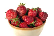Free Strawberries Royalty Free Stock Photos - 9634878