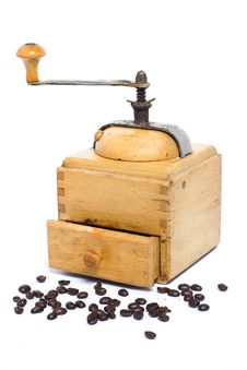 Free Coffee Grinder Royalty Free Stock Images - 9635329