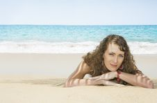 Free Day On Beach Stock Photography - 9635432