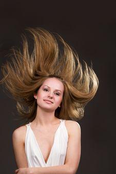 Free Flying Hair Stock Photos - 9635553