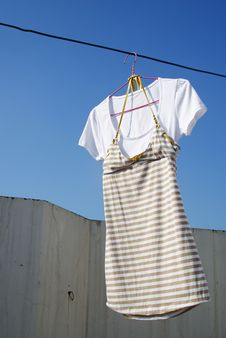 Free Drying Clothes Stock Photo - 9635650