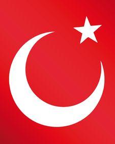 Free Flag Of Turkey Stock Photo - 9636520