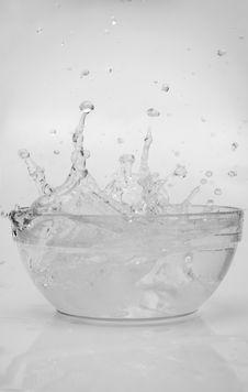 Free Water Splashes Royalty Free Stock Image - 9637116