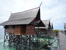 Water Village Royalty Free Stock Photo