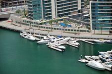 Marina Boats Stock Photo