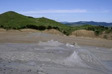 Free Muddy Volcano Stock Photo - 9638370