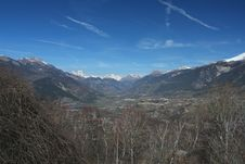 Free View Of The Valley III Stock Photos - 9639383