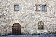 Free Medieval Facade Royalty Free Stock Photography - 9639767