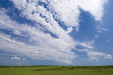 Free Wide Angle Blue Sky Stock Images - 9639934