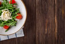Free Close-up Of Salad On Table Royalty Free Stock Photos - 96364438