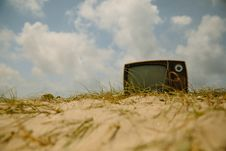 Free Outdoor Television Royalty Free Stock Photos - 96364708