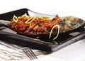 Free Thai Dishes - Grilled Dorado Stock Image - 9642291